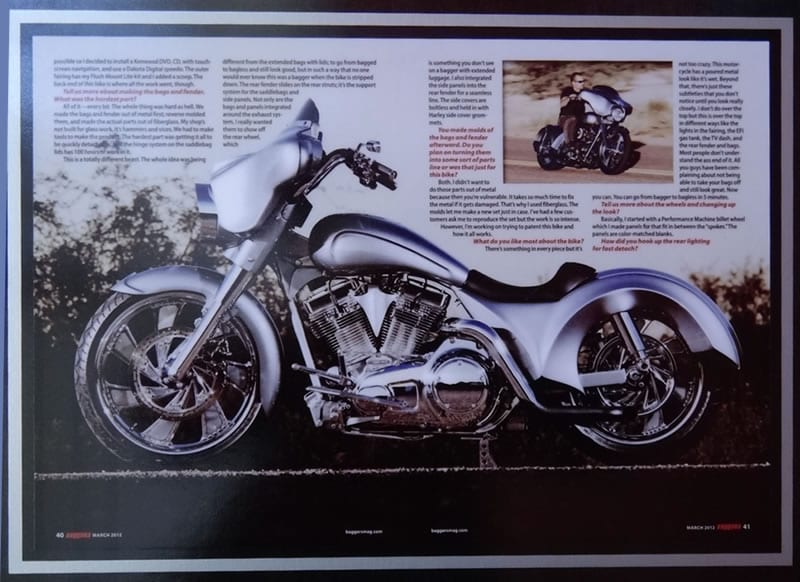 Razor Sharp Innovator - Baggers Magazine March 2012