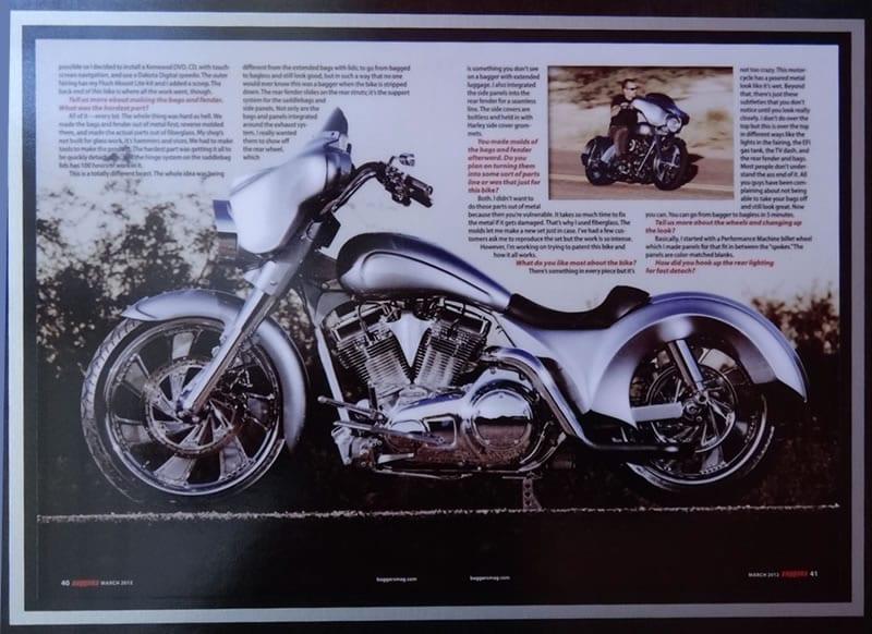Razor Sharp Innovator - Baggers Magazine March 2012