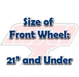"Size of Front Wheel: 21"" and Under"