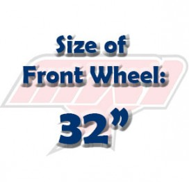 Size of Front Wheel: 32""