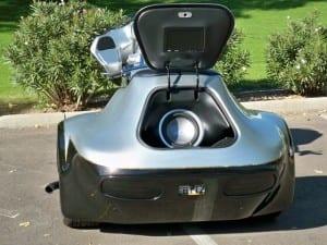 MRI Trike: Barbara's 2006 Custom Trike