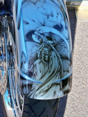 MRI Custom Bagger: Jeff's 2008 Street Glide FLHX