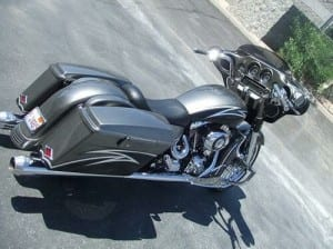 MRI Custom Bagger: Nino's 2007 Street Glide FLHX